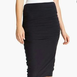 JAMES PERSE Ruched Pencil Skirt Sz 0